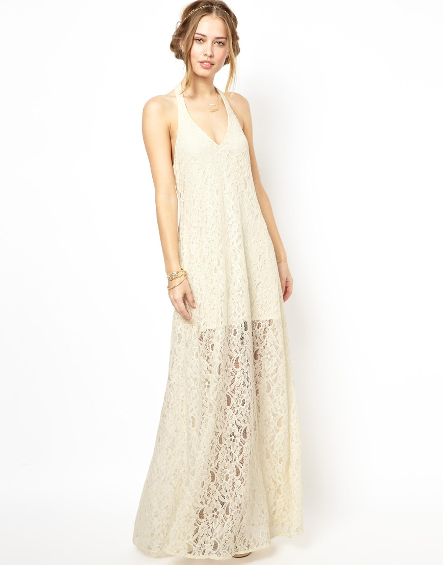 Lace Maxi Dress - Dressed Up Girl