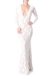 White Maxi Dress Lace