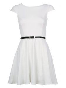 White Skater Dresses
