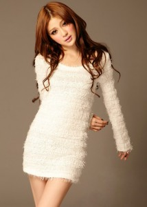 White Sweater Dresses