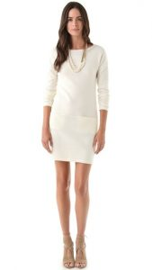 White Sweater Dresses For Women