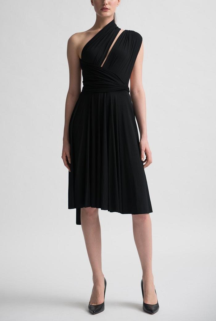 Black Wrap Dress Picture Collection Dressedupgirl Com