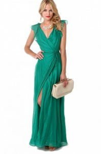 Wrap Dress Maxi