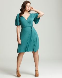 Wrap Dress Plus Size