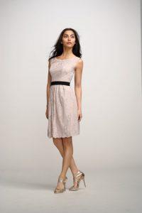 Beige Lace Bridesmaid Dresses