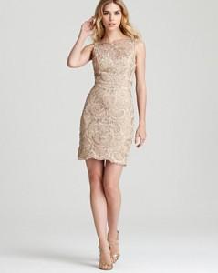 Beige Lace Dresses