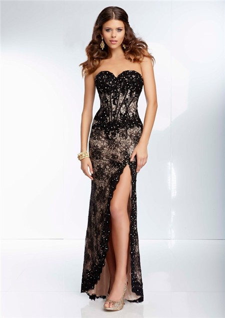 lace prom dress picture collection dressed up girl