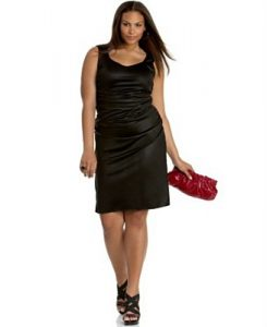 Black Sheath Dress Plus Size