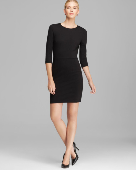 Black Sheath Dress | Dressed Up Girl