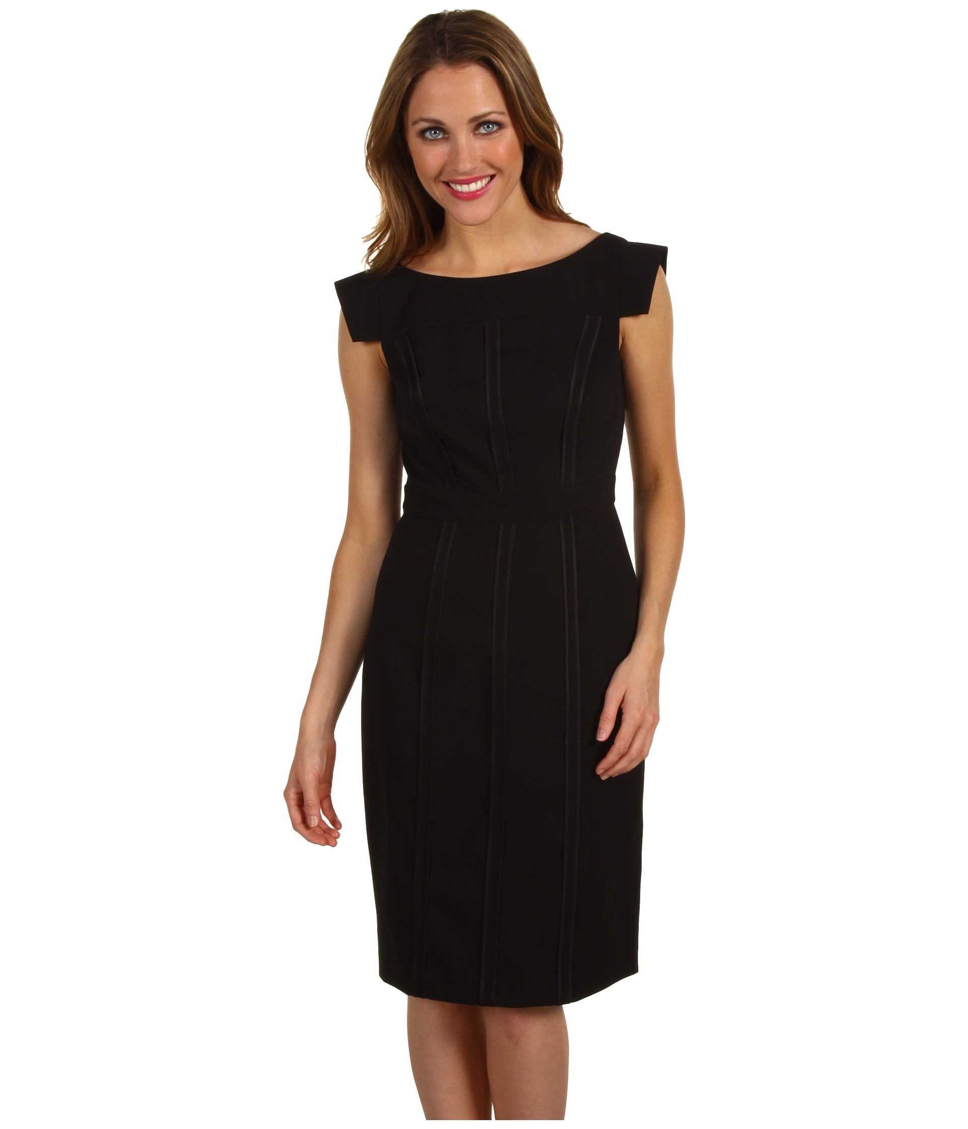 "I wear a black sheath dress with a light gray blazer all the time for biglaw events and court. I'm in the West (but not California). Never occurred to me that I might not be ""formal"" enough. How is a dress with a jacket less formal than a skirt, shirt, and jacket? To me, a dress is even more formal."