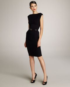 Black Sheath Dresses