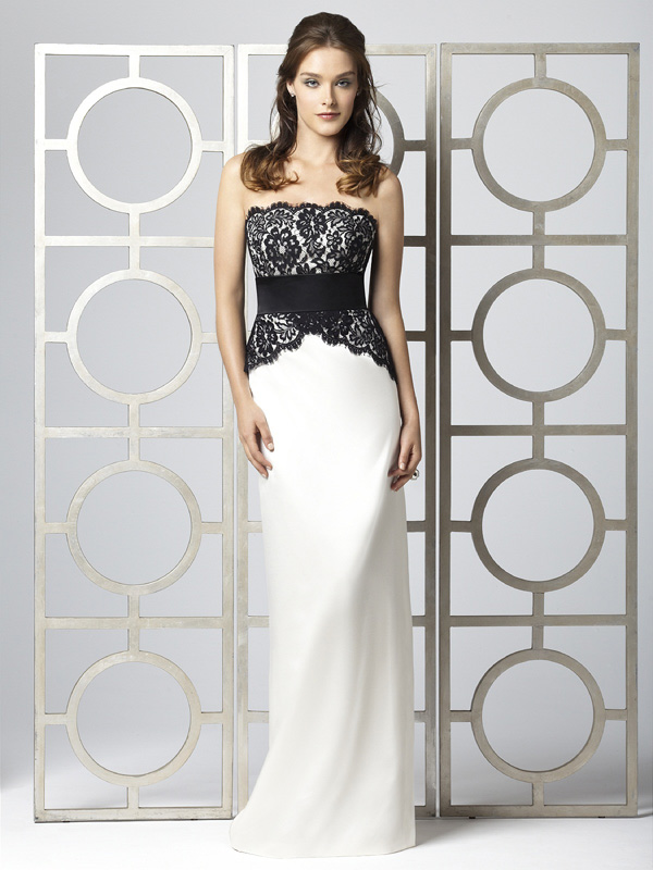 Fantastic Black And White Lace Prom Dresses Inspiration - Wedding ...