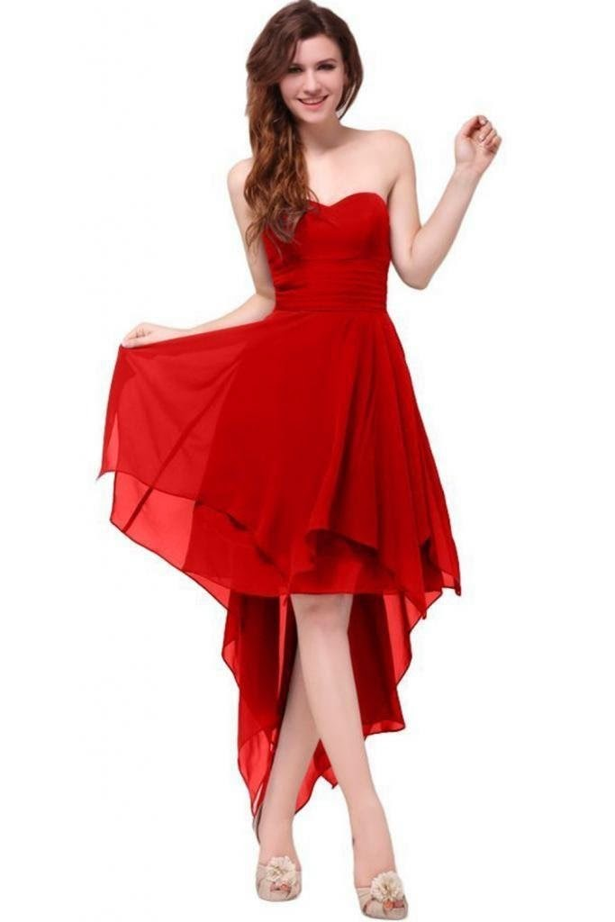Red Cocktail Dress Picture Collection Dressedupgirl Com