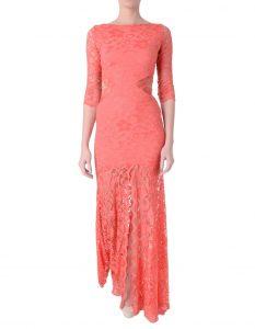 Coral Lace Dresses