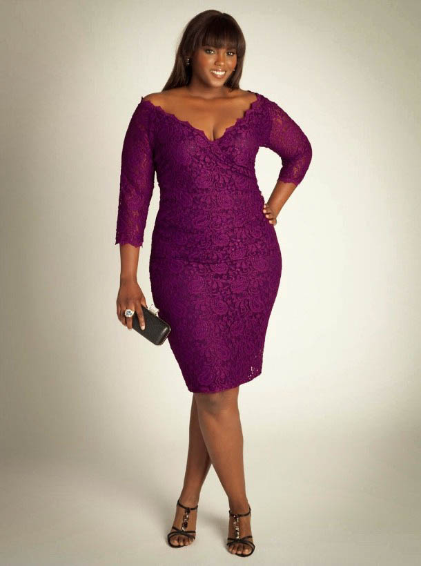 Plus Size Lace Dress Dressed Up Girl