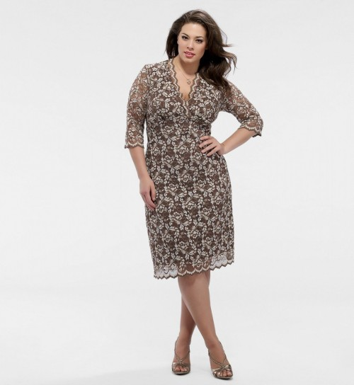 a41c030ff44 PLUS SIZE LACE DRESS - Kapres Molene