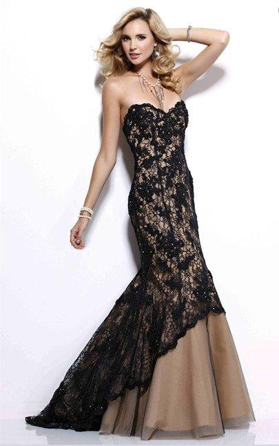 Lace Prom Dress Picture Collection Dressedupgirl Com