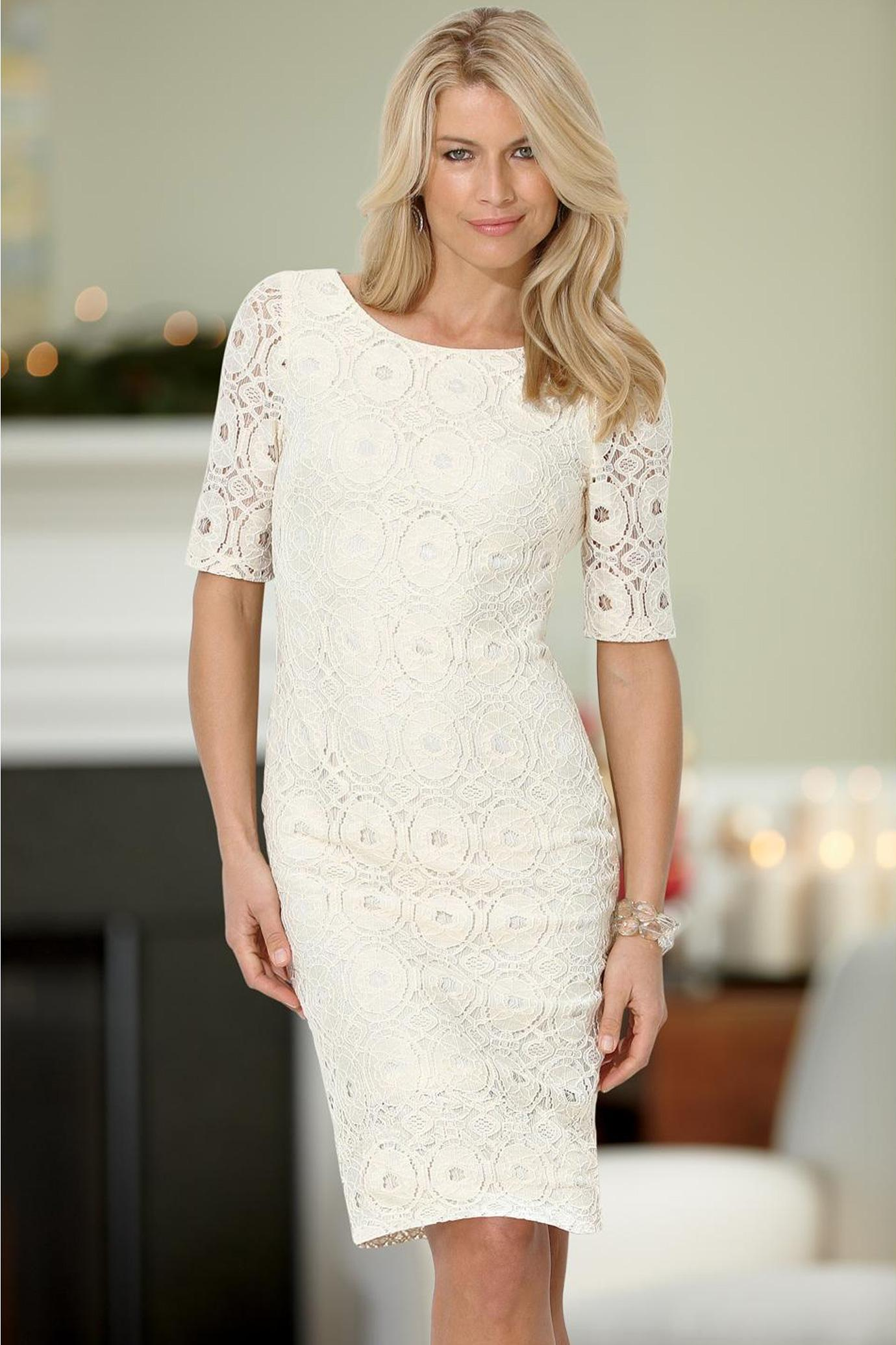 Lace Sheath Dress Picture Collection Dressedupgirl Com