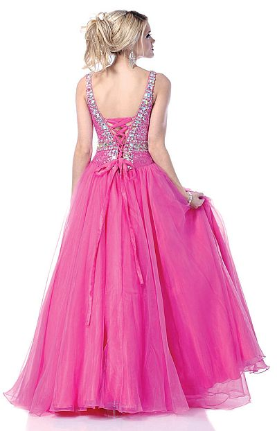 Homecoming Dresses Lace Up Back 53