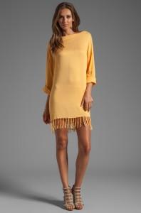 Long Sleeve Shift Mini Dress