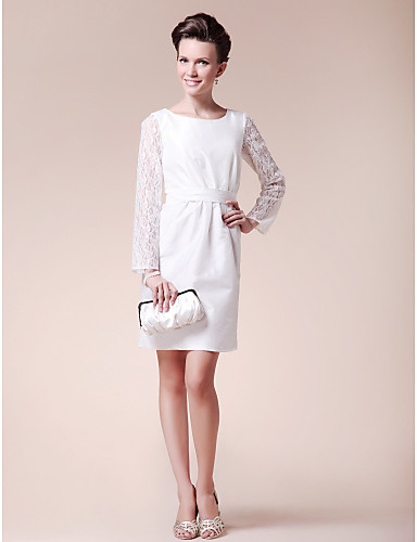 White Cocktail Dress | Dressed Up Girl