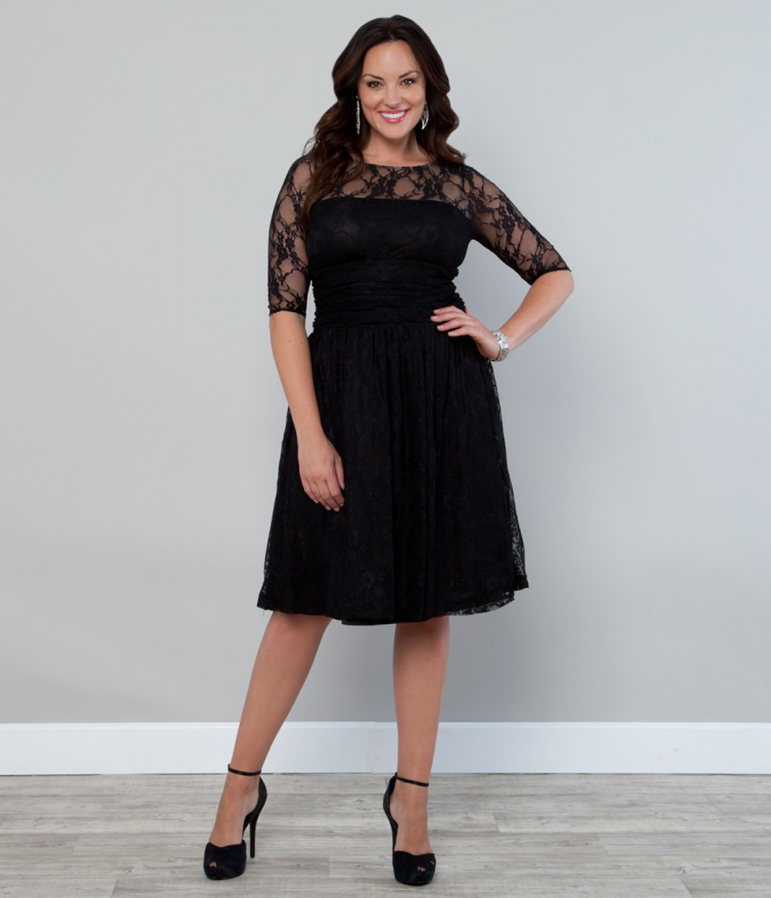 Cheap Plus Size Lace Dress – Fashion dresses