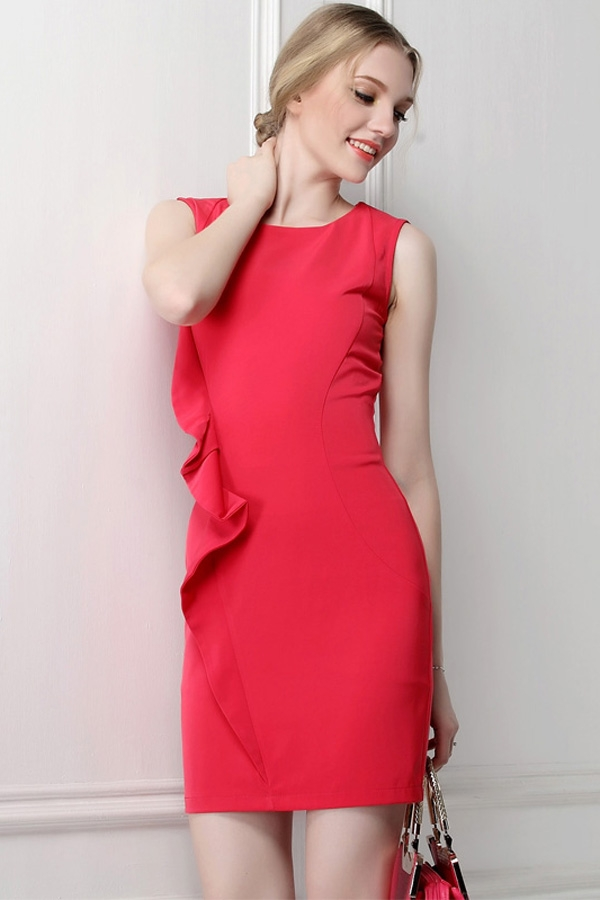 Red Sheath Dress | Dressed Up Girl