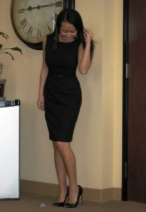 Sheath Black Dress