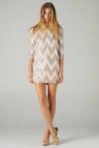 Shift Sequin Dress