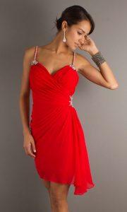 Short Red Cocktail Dress