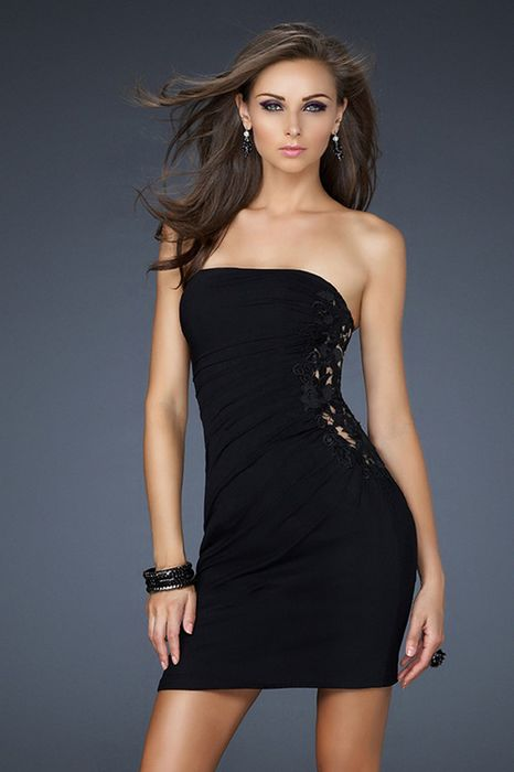 Black Cocktail Dress Picture Collection Dressedupgirl Com