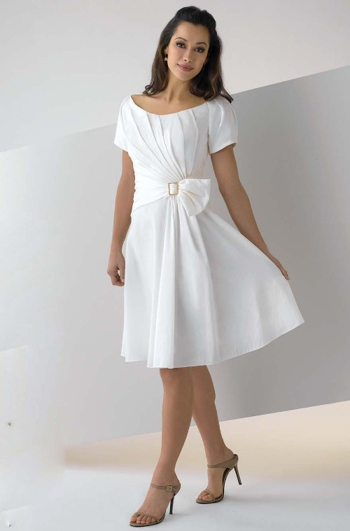 White Cocktail Dress Picture Collection Dressedupgirl Com