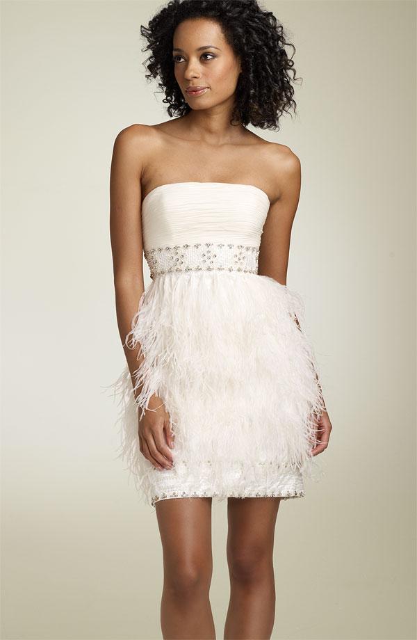 White Cocktail Dress Picture Collection Dressedupgirl Com