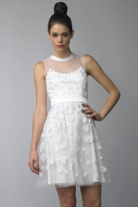 White Lace Cocktail Dress