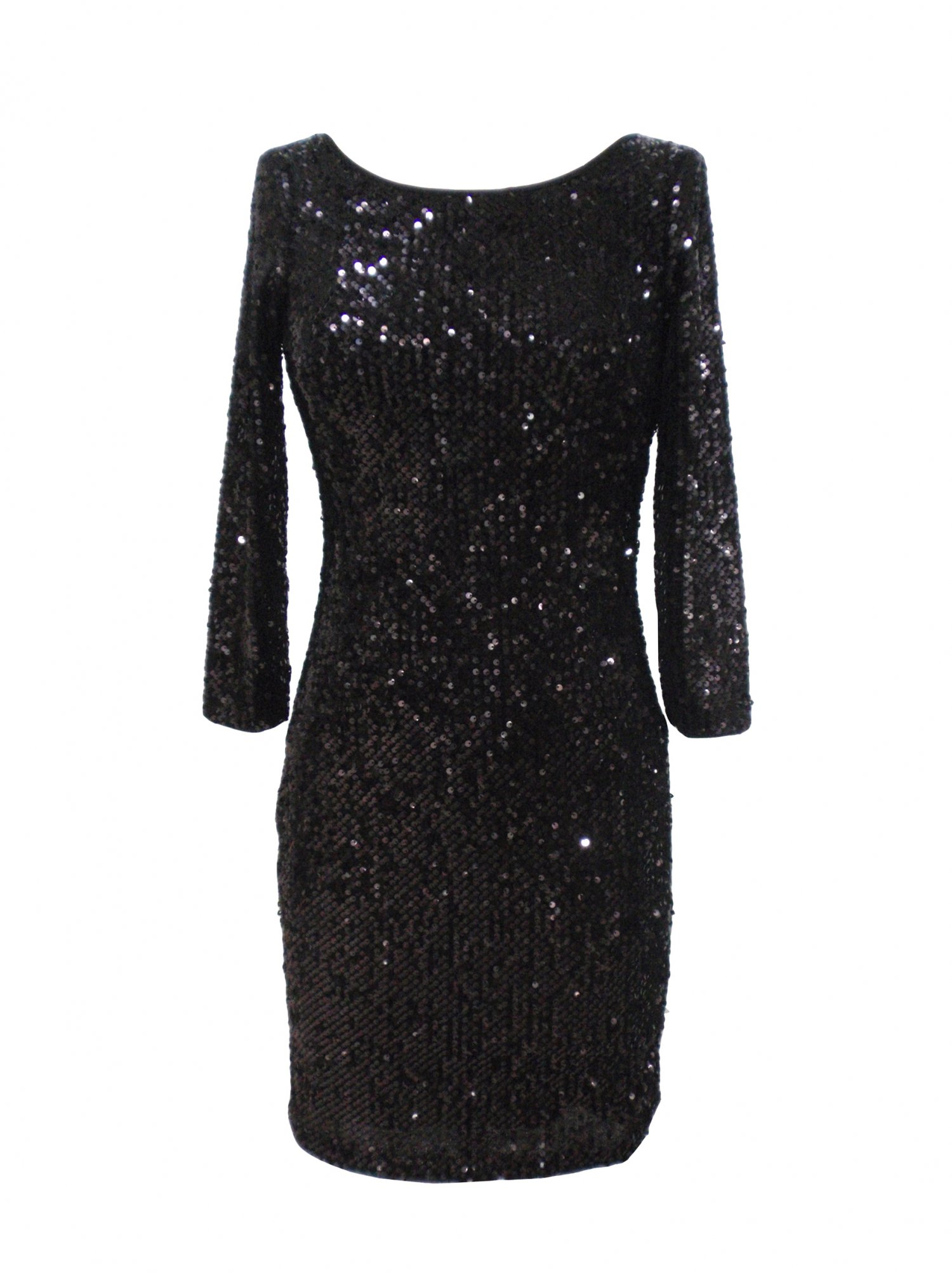 Black Sequin Dress Picture Collection Dressedupgirl Com