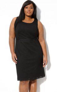 Black Sheath Dress Plus Size