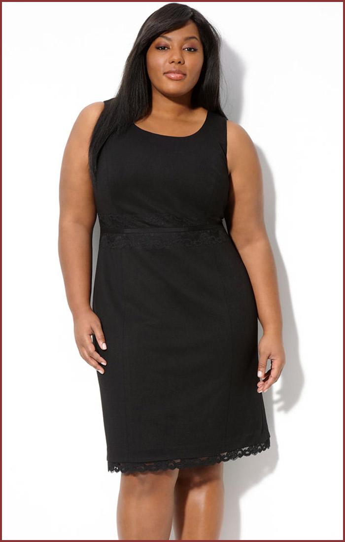 Plus Size Sheath Dress Picture Collection | DressedUpGirl.com