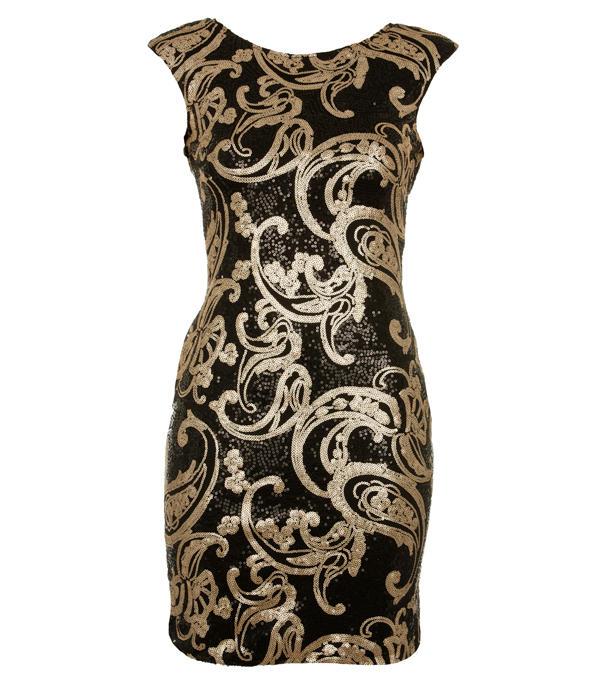 Gold Sequin Dress Picture Collection Dressedupgirl Com