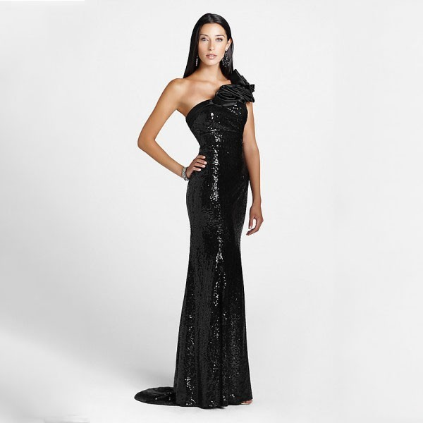 Black Sequin Dress Picture Collection Dressedupgirl Com