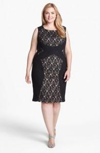Plus Size Sheath Dress