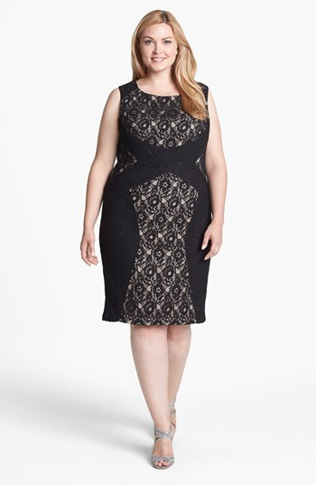 Plus Size Sheath Dress | Dressed Up Girl