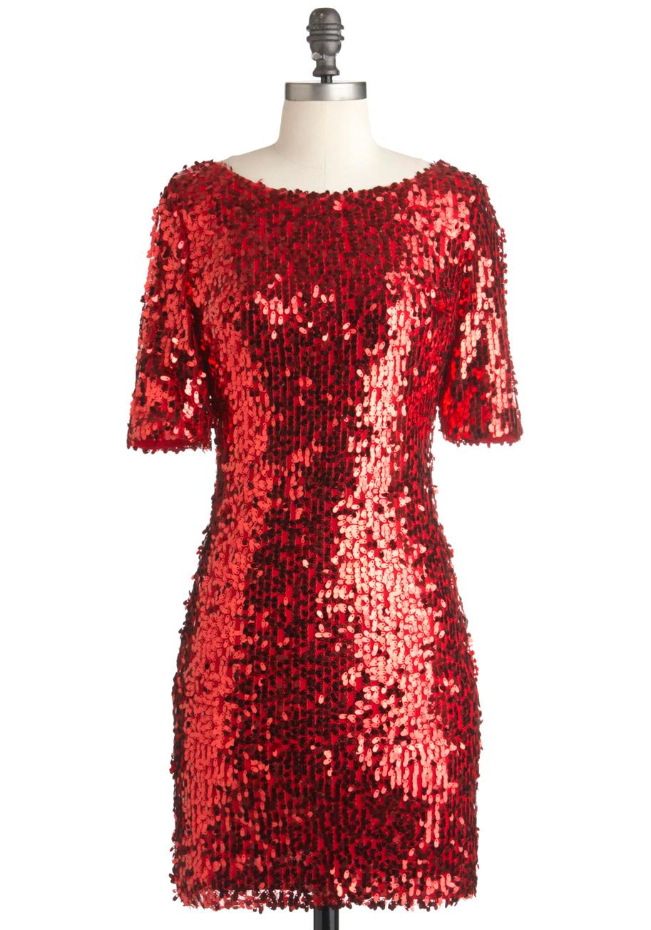 Red Sequin Dress Picture Collection Dressedupgirl Com
