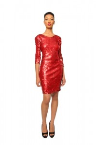 Red Sequin Dresses
