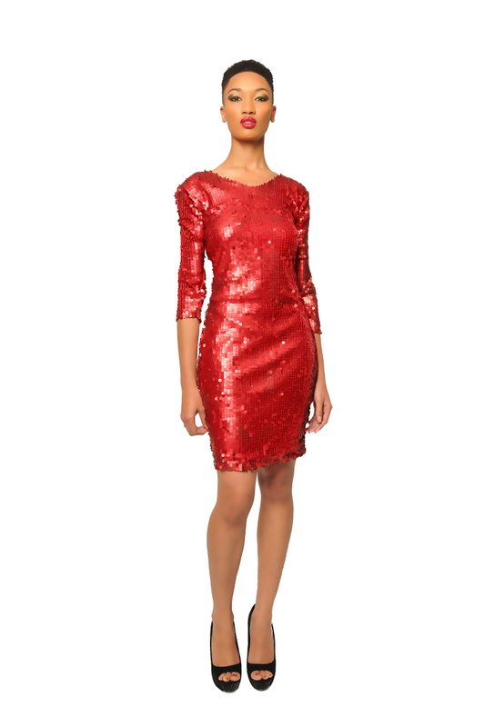 Red Sequin Dress  Dressed Up Girl