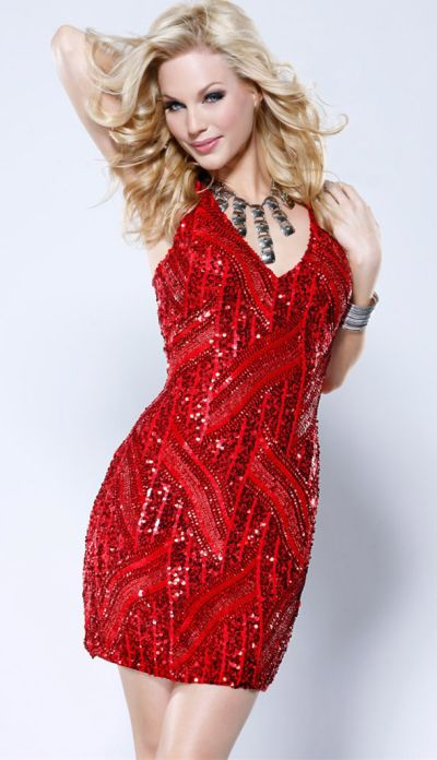Red Sequin Dress - Dressed Up Girl