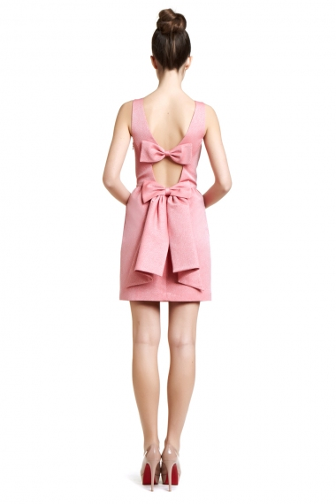 Bow Back Dress Picture Collection