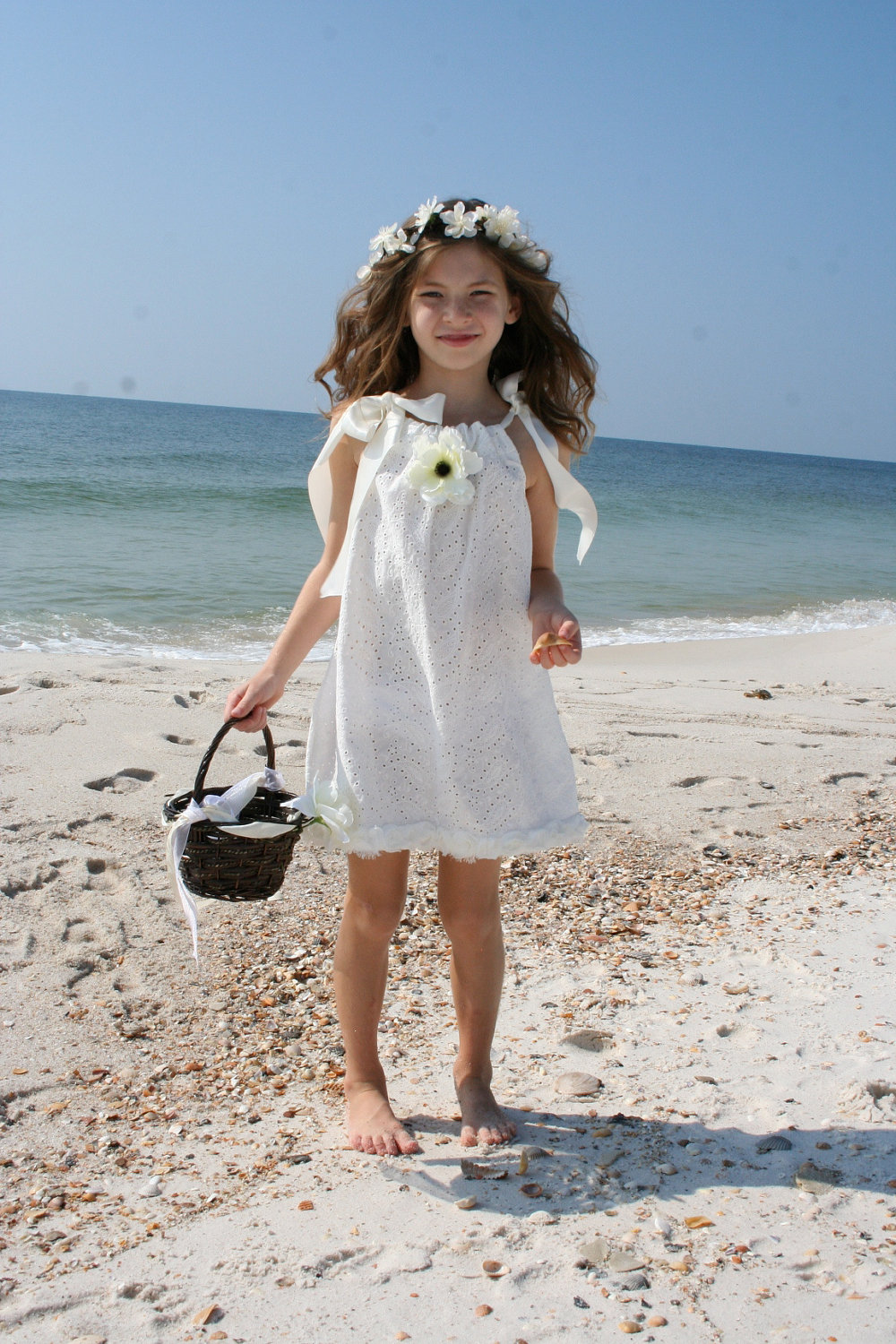 Beach Flower Dresses
