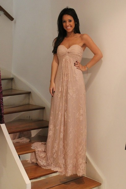 Beige Dress Picture Collection Dressed Up Girl
