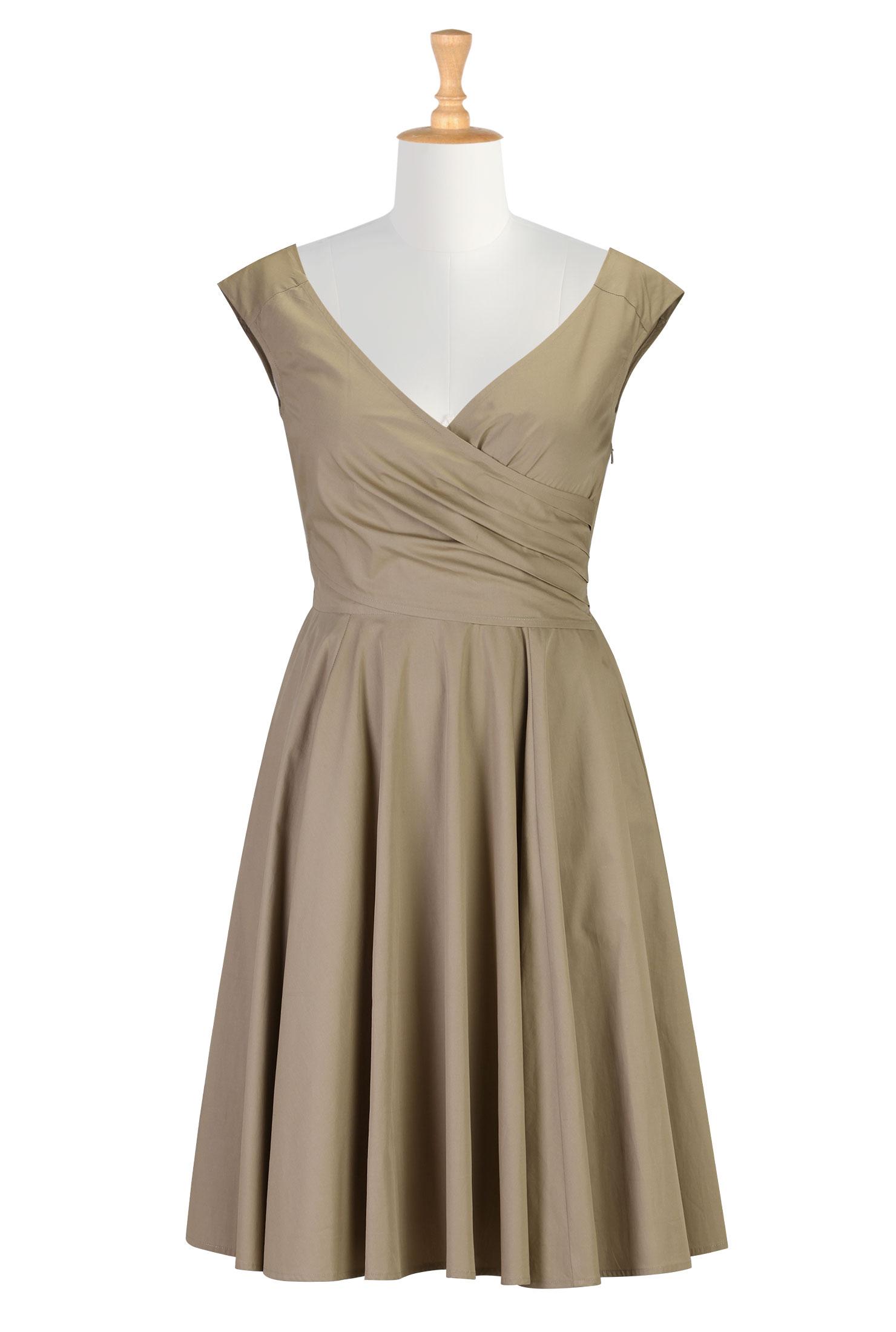 Beige Dress Picture Collection | DressedUpGirl.com