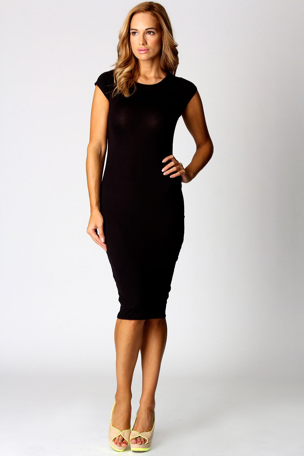 Popular Dresses Black Bodycon Midi Dress Black Cut Out Bodycon Dress